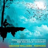 HMV Concert Classics: Elgar: Enigma Variations - Vaughn-Williams: Fantasia von Philharmonia Orchestra