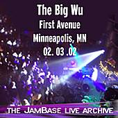 02/03/02 - First Avenue - Minneapolis, MN by The Big Wu