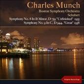 Schubert: Symphonies Nos. 8 & 9 von Boston Symphony Orchestra