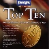 Singing News Top Ten Southern Gospel Songs of 2002 by Various Artists