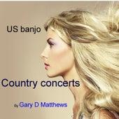 US Banjo by Gary D. Matthews