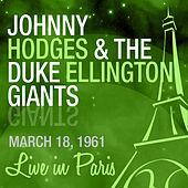 Live in Paris by Johnny Hodges