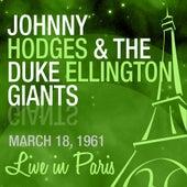 Live in Paris von Johnny Hodges