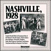Nashville, 1928 by Various Artists