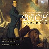 Johann Christoph Friedrich Bach: 3 Symphonies by Neues Bachisches Collegium Musicum