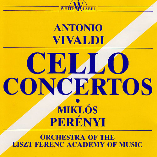 Vivaldi: Cello Concertos by Miklos Perenyi