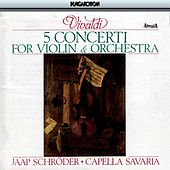 5 Concerti for Violin and Orchestra by Jaap Schröder