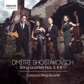 Dmitri Shostakovich: String Quartets Nos. 4, 8 & 11 by Carducci String Quartet
