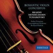 Romantic Violin Concertos by Arthur Grumiaux