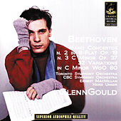 Beethoven: Piano Concertos No 2 & 3 - 32 Variations Woo 80 by Glenn Gould