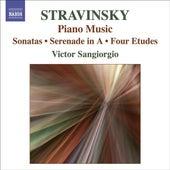 STRAVINSKY: Music for Piano Solo by Victor Sangiorgio