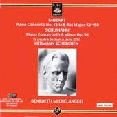 Mozart: Piano Concerto No. 15 - Schumann: Piano Concerto Op. 54 de Arturo Benedetti Michelangeli