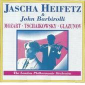 Mozart - Tschaikowsky - Glazunov by Jascha Heifetz