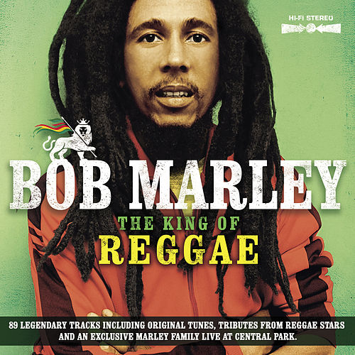 Bob Marley - The King Of Reggae (89 legendary tracks including original tunes, tributes from reggae stars and an exclusive Marley family live at Central Park) by Various Artists