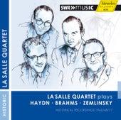 Haydn, Brahms & Zemlinsky: String Quartets von LaSalle Quartet
