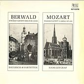Berwald: String Quartet No. 3 - Mozart: Piano Quartet No. 1, K. 478 by Various Artists