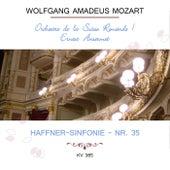 Orchestre de la Suisse Romande / Ernest Ansermet play: Wolfgang Amadeus Mozart: Haffner-Sinfonie - Nr. 35, KV 385 von Orchestre de la Suisse Romande