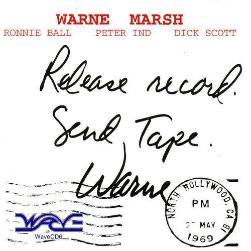 Release Record - Send Tape by Warne Marsh