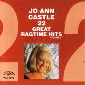 22 Great Ragtime Hits, Vol. II by Jo Ann Castle