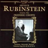 Arthur Rubenstein Plays Frederic Chopin by Arthur Rubinstein