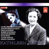 Ferrier Sings Handel, Bach, Schubert, Schumann, Brahms, Wolf, Mahler, Chausson de Various Artists