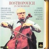 Dvořák|: Concerto for Cello and Orchstra de Mstislav Rostropovich