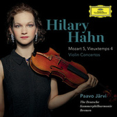 Mozart: Violin Concerto No.5 In A, K.219 / Vieuxtemps: Violin Concerto No.4 In D Minor, Op.31 (Bonus Track Version) de Paavo Jarvi