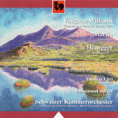 Ralph Vaughan William: Fantasia on a Theme by Thomas Tallis - Frank Martin: Polyptyque - Arthur Honegger: Simphony No. 2 for Strings and Trumpet, H. 153 (Live) by Various Artists