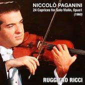 Niccolò Paganini: 24 Caprices for Solo Violin, Opus1 (1960) von Ruggiero Ricci
