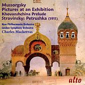 Mussorgsky: Pictures at an Exhibition; Stravinsky: Petrushka by New Philharmonia Orchestra