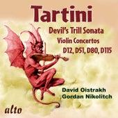 Tartini: Devil's Trill Sonata; Violin Concertos D12, D51, D80, & D115 by Various Artists