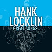 Great Songs de Hank Locklin
