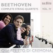 Ludwig van Beethoven: Complete String Quartets, Vol. 4 (String Quartets, Op. 18 No. 1 & Op. 131 No. 14) by Quartetto di Cremona