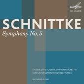 Schnittke: Symphony No. 5 by Gennady Rozhdestvensky