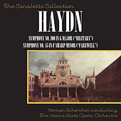 """Joseph Haydn: Symphony No. 100 In G Major (""""Military"""") / Symphony No. 45 In F Sharp Minor (""""Farewell"""") by Vienna State Opera Orchestra"""