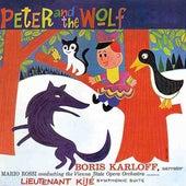 Peter & The Wolf/Lieutenant Kije by Boris Karloff