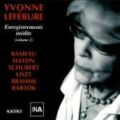 Lefébure : Enregistrements inédits (volume 2) de Yvonne Lefébure