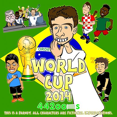 world cup 2014 songs ep by 442oons