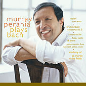 Murray Perahia Plays Bach:  Italian Concerto, BWV 971; Brandenburg Concerto No 5, BWV 1050; Concerto for flute, violin, harpsichord, BWV 1044 by Murray Perahia