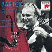 Bartók: Violin Concertos Nos. 1 & 2 by Isaac Stern, The Philadelphia Orchestra, Eugene Ormandy, New York Philharmonic, Leonard Bernstein