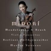 Bruch & Mendelssohn Violin Concertos by Midori