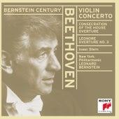 Violin Concerto in D Major, Op. 61 & Overtures by Leonard Bernstein, Isaac Stern
