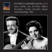 Ida Presti & Alexandre Lagoya, Vol. 3 by Ida Presti