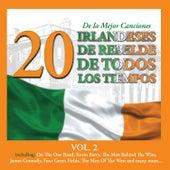 20 de la Mejor CancionesIrlandeses de Rebelde de Todos los Tiempos, Vol. 2 by Various Artists