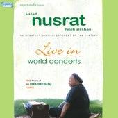 Live in World Concerts by Nusrat Fateh Ali Khan