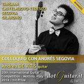 Colloquio con Andrés Segovia by Andrea de Vitis
