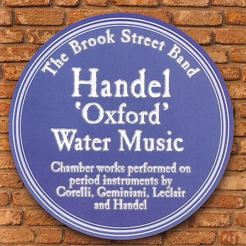 Handel 'Oxford' Water Music by Various Artists