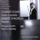 Elgar: Violin Concerto, Chausson: Poème by Various Artists