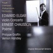 Elgar: Violin Concerto, Chausson: Poème de Various Artists