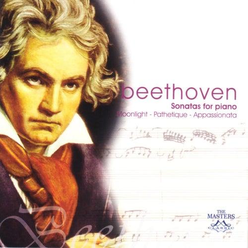 Bethoven: Sonatas For Piano - Moonlight - Pathetique - Appassionata by Ludwig van Beethoven